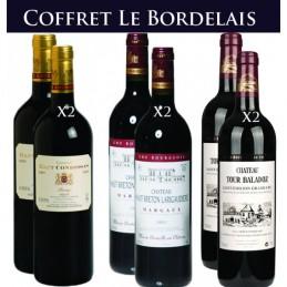 Coffret Le Bordelais X 6 Bouteilles