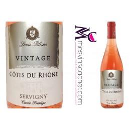Côtes du Rhône Rosé Servigny 2014