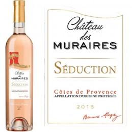 Château des Muraires Rosé Séduction 2015  Bernard Magrez