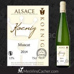 Muscat d'Alace 2014 Koenig