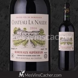 Bordeaux Superieur Château La Naude 2014 Rouge