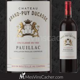 Pauillac château Grand-Puy Ducasse 2013 Cru Classé