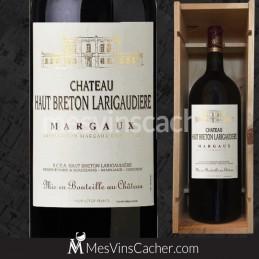 Double Magnum Margaux Château Haut Breton la Rigaudière 2012 Crus Bourgeois