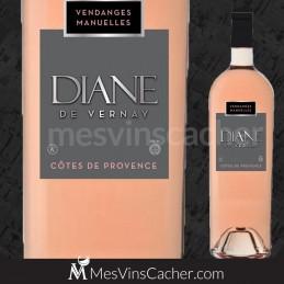 Magnum Diane De Vernay  2014 Côtes de Provence Rosé