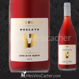 Teperberg Moscato Rosé 2014