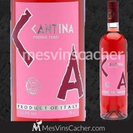 Cantina Merlot Rosé
