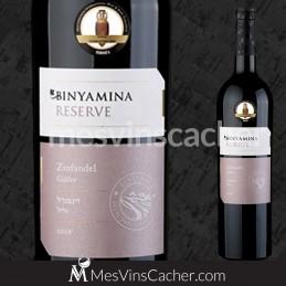 Binyamina Spécial Réserve  Zinfandel 2011