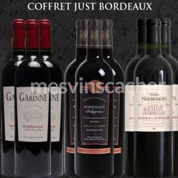 """Sélection """" Just Bordeaux """" X 9 bouteilles"""