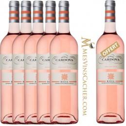 Rioja  Ramon Cardova Rosé 2016  5 + 1