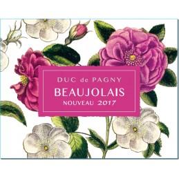 10 + 2  Beaujolais Villages Nouveau 2017  Duc de Pagny