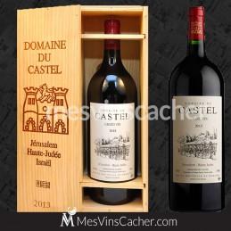 Double Magnum Grand Vin du Castel 2014 en Plumiers Bois