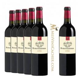 Haut Médoc Château Peyrat Fourthon 2015 (5 achetés + 2 offerts )
