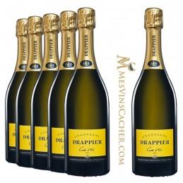 Champagne  Drappier Carte d'Or Brut (5 achetés + 1 Offerts )