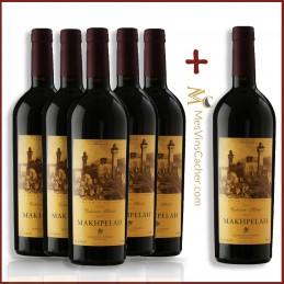 Hevron Heights Makhpelah Réserve 2012  ( 5 Achetés + 1 Offert )