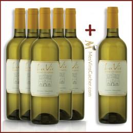 La Vie Blanc du Castel 2017 ( 5 Achetés + 1 Offert )