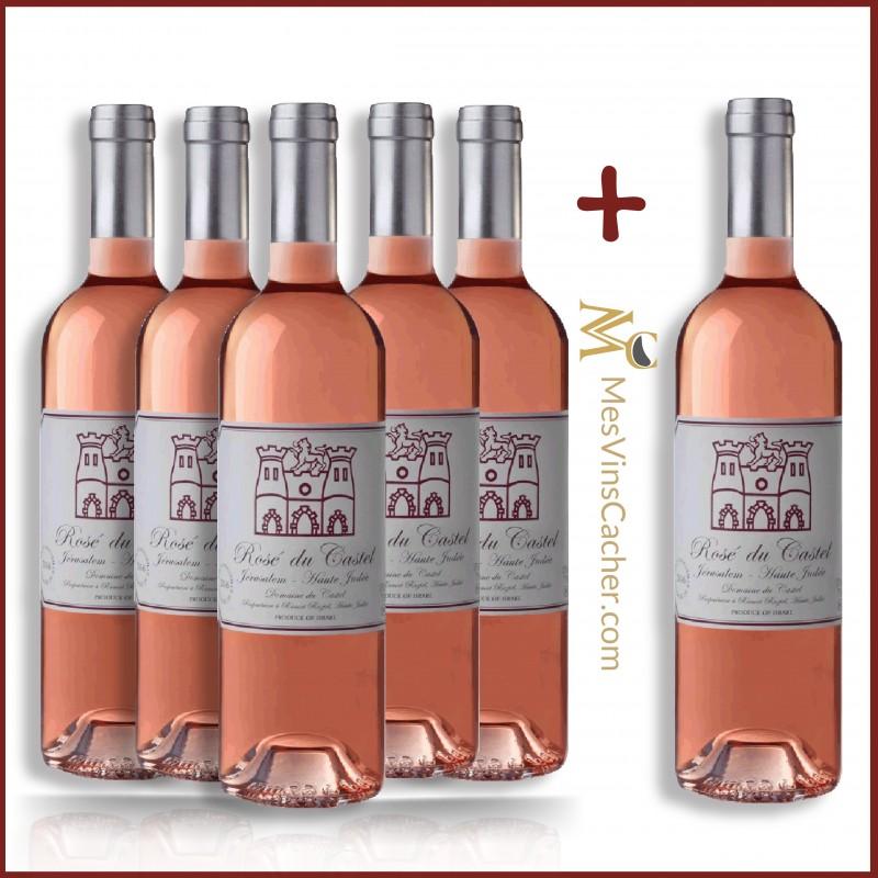 Castel Rosé 2016 ( 5 Achetés + 1 Offert )