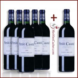 Petit Castel 2017 Domaine du Castel ( 5 Achetés +1 Offert )