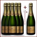 Champagne Brut 1er Cru  Bonnet Ponson (5 achetés + 1 Offert )