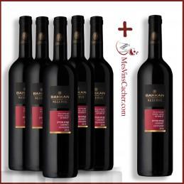 Barkan Réserve Cabernet Sauvignon 2014 ( 5 Achetés + 1 Offert )