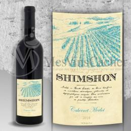 Shimshon Cabernet Merlot 2016
