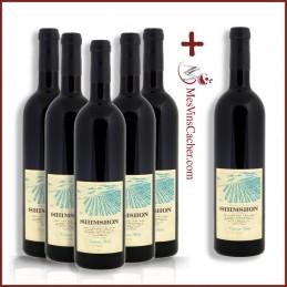 Shimshon Cabernet Merlot 2016 ( 5 Achetés + 1 Offert )
