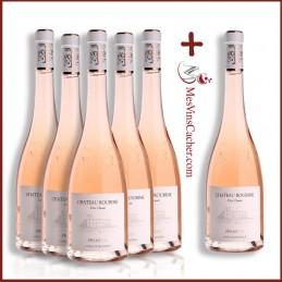 Château Roubine Rosé Cru Classé 2018   ( 5 Achetés + 1 Offert )