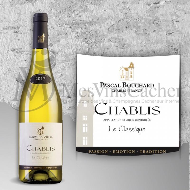 """Chablis Pascal Bouchard """"Le Classique""""  2017"""