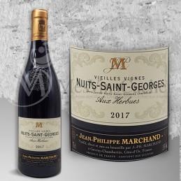 """Nuits Saint Georges JP Marchand """"Aux Herbues""""Vieilles Vignes 2017"""