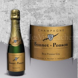 Champagne Brut 1er Cru  Bonnet Ponson  375 ml
