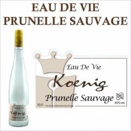 Eau de Vie Prunelle de Buissons Koenig