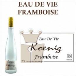 Eau de vie Framboise Sauvage Koenig