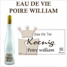 Eau de vie Poire William Koenig