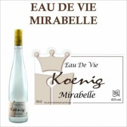 Eau de vie  Mirabelle Koenig