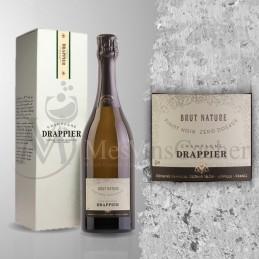 Champagne Drappier Brut Nature Zéro Dosage  (prix KC à partir de 12 btl )