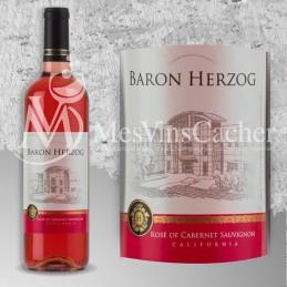 Baron Herzog rosé de Cabernet Sauvignon