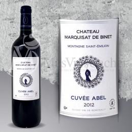 Montagne Saint Emilion Château Marquisat de Binet Cuvée Abel 2014