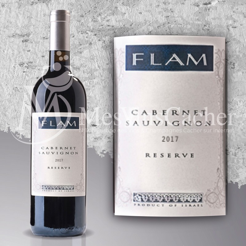 Flam Réserve Cabernet Sauvignon 2017  (prix KC à partir de 12 btl )