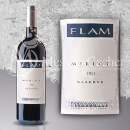 Flam Réserve Merlot 2017 (prix KC à partir de 12 btl )