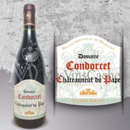Chateauneuf du Pape Domaine Condorcet 2015 Cuvée Anaïs