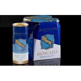 Moscato Bartenura  Canettes en pack de 4 X 250 ml  Nouveauté