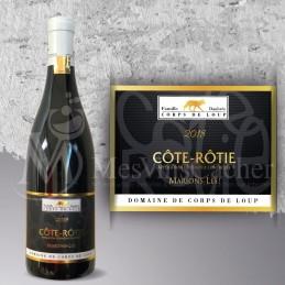 """Côte-Rôtie Cuvée """"Marions Les"""" 2019 Domaine Corps de Loup"""