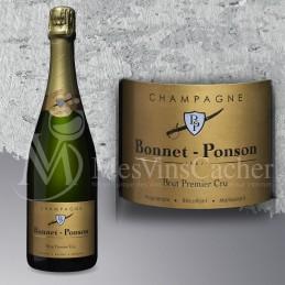 Champagne Brut 1er Cru  Bonnet Ponson