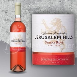Jerusalem Hills Shiraz Rosé 2016