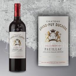 Pauillac château Grand-Puy Ducasse 2015 Cru Classé