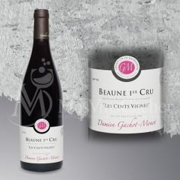 """Beaune 1 er Cru """"Les Cents des Vignes"""" Domaine Gachot Monot 2010"""