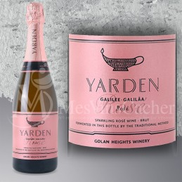 Yarden Brut Rosé  Limited Edition en Coffret