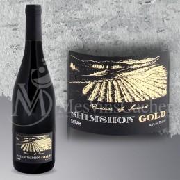 Shimshon Gold Syrah 2014