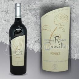 Double Magnum Pomerol Domaine de Roses Camille 2011 en Plumier Bois