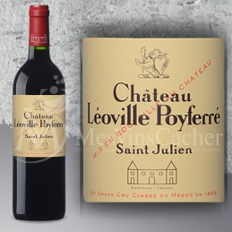 Saint Julien Château Léoville Poyferré 2015 Grand Cru Classé