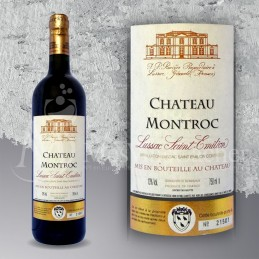 Lussac Saint Emilion Château Montroc 2012